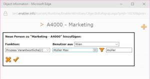 Screenshot Objekt Information anlegen