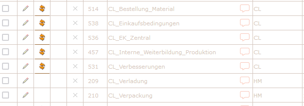 Screenshot Dokument manuell neu erstellen in der enabler4BIZ Administration